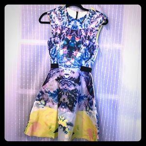 H&M Dresses - Neon scuba dress